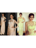 Stylish Trendy Long Gown with Churidar