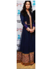 Katrina Wearing Navy Blue Gown