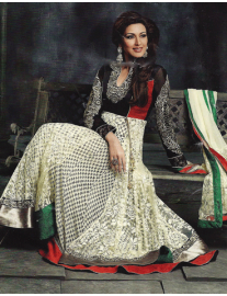 Stunning Sonali with Pure Georgette Outfit